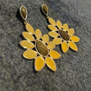 Floral Hanging Earrings